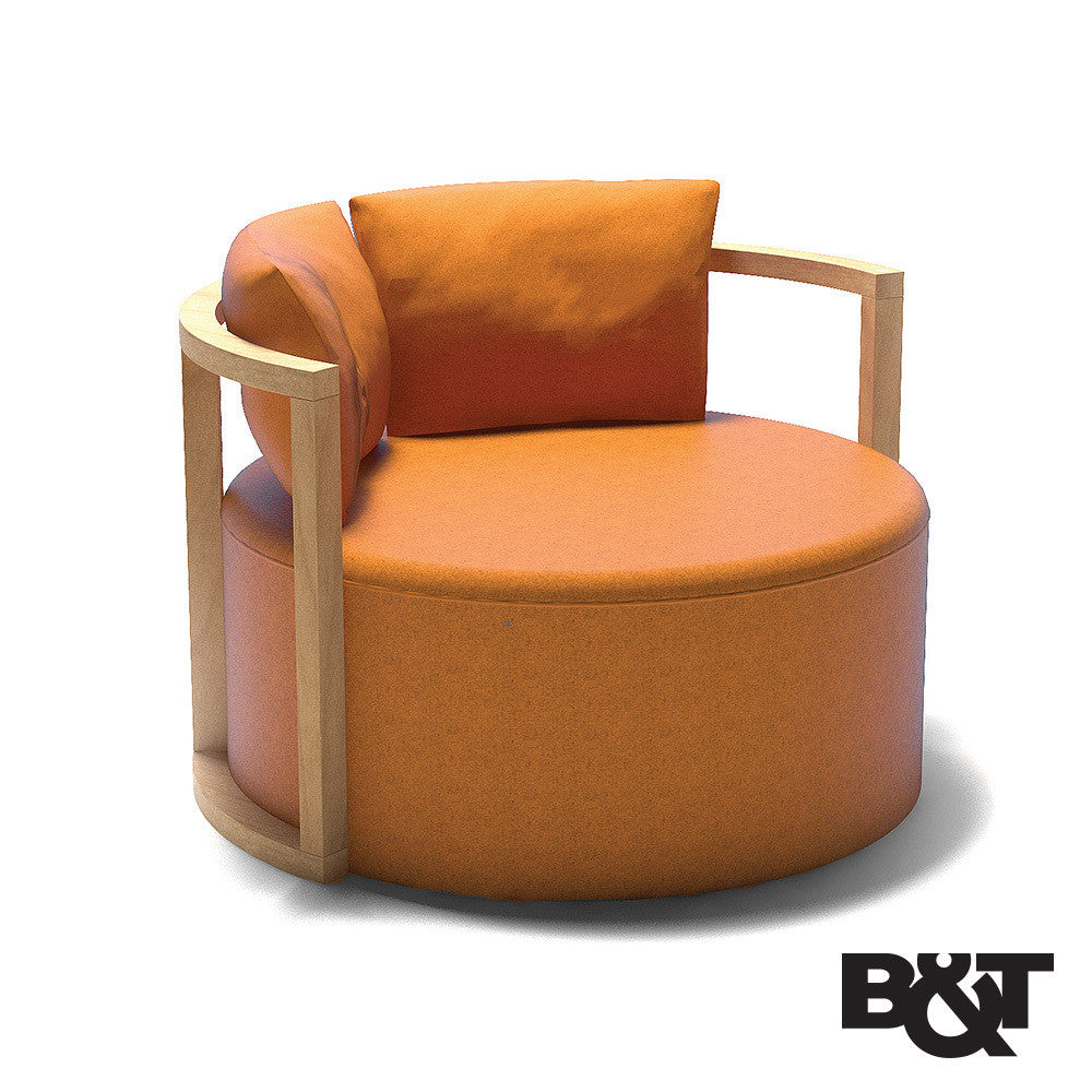 B&T Kav Lounge Chair - LoftModern - 4