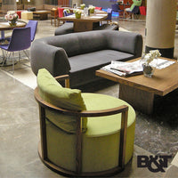 B&T Kav Lounge Chair - LoftModern - 12