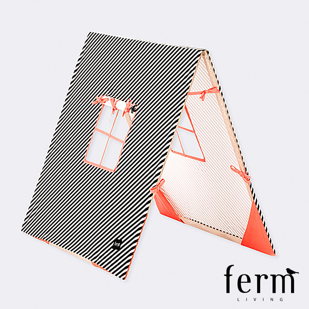 Ferm Living Kids Tent Black | Ferm Living | LoftModern