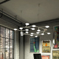 LED Net Circle Pendant Light by Artemide