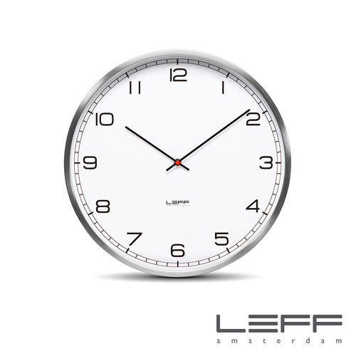 Leff One Wall Clock Arabic Stainless Steel | Leff | LoftModern