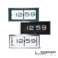 Leff Brick Desk/Wall Clock - Steel | Leff | LoftModern