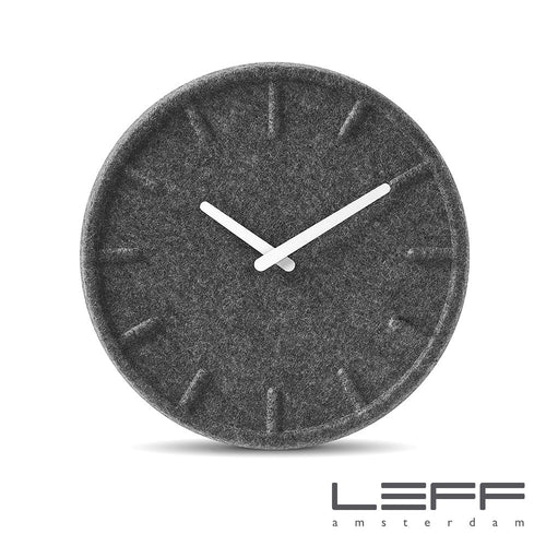 Leff Felt Index Wall Clock | Leff | LoftModern
