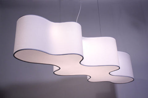 Lampa Cloud Mesa Suspension Light