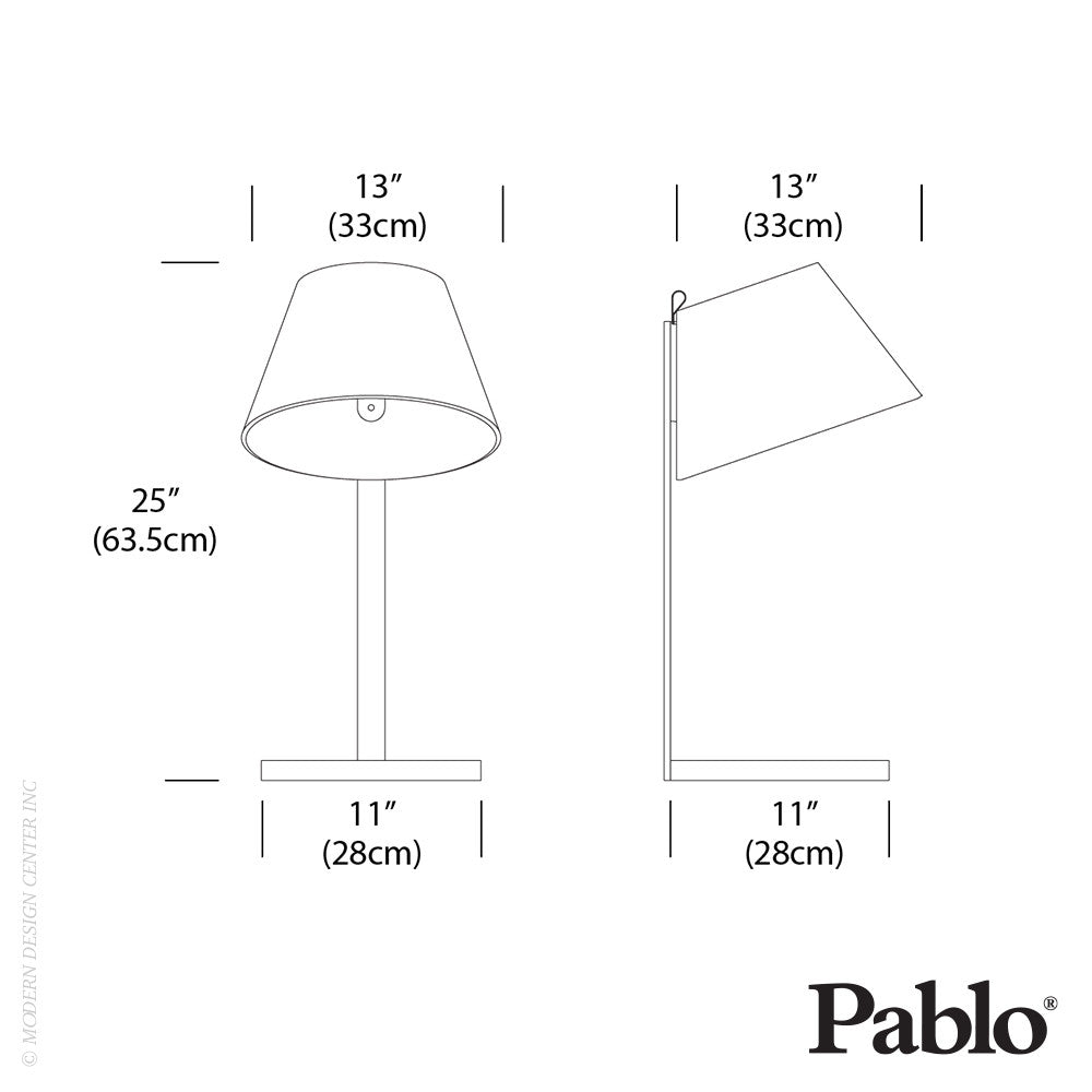 Pablo Designs Lana Table LED - LoftModern - 9