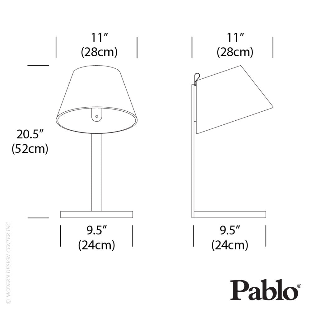 Pablo Designs Lana Table LED | Pablo Design | LoftModern