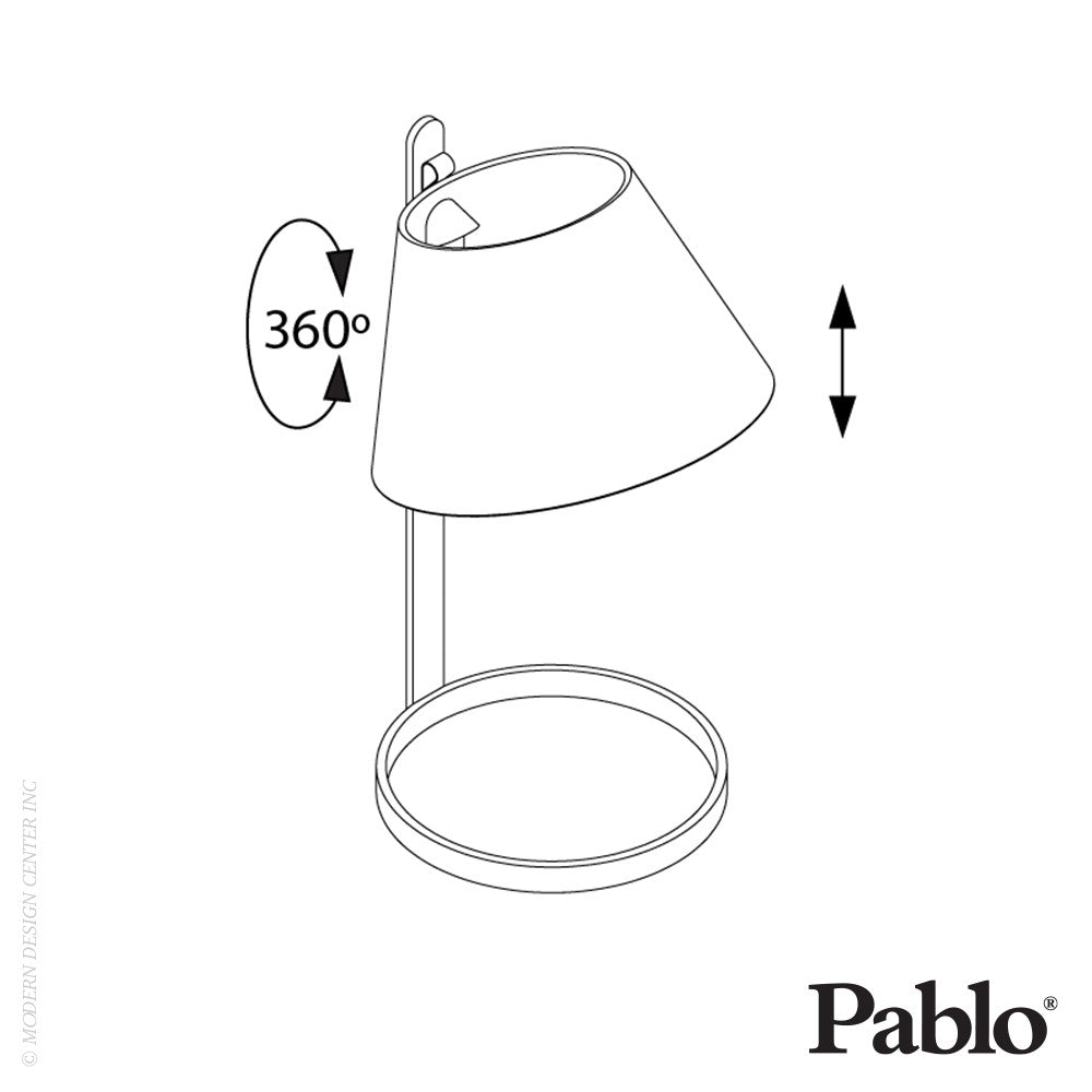 Pablo Designs Lana Table LED - LoftModern - 11