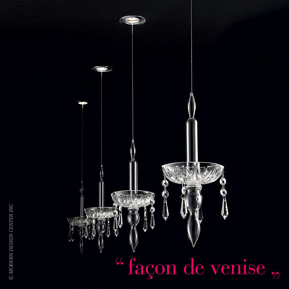 Facon de Venise Limelight 1.1 Chandelier - LoftModern - 1