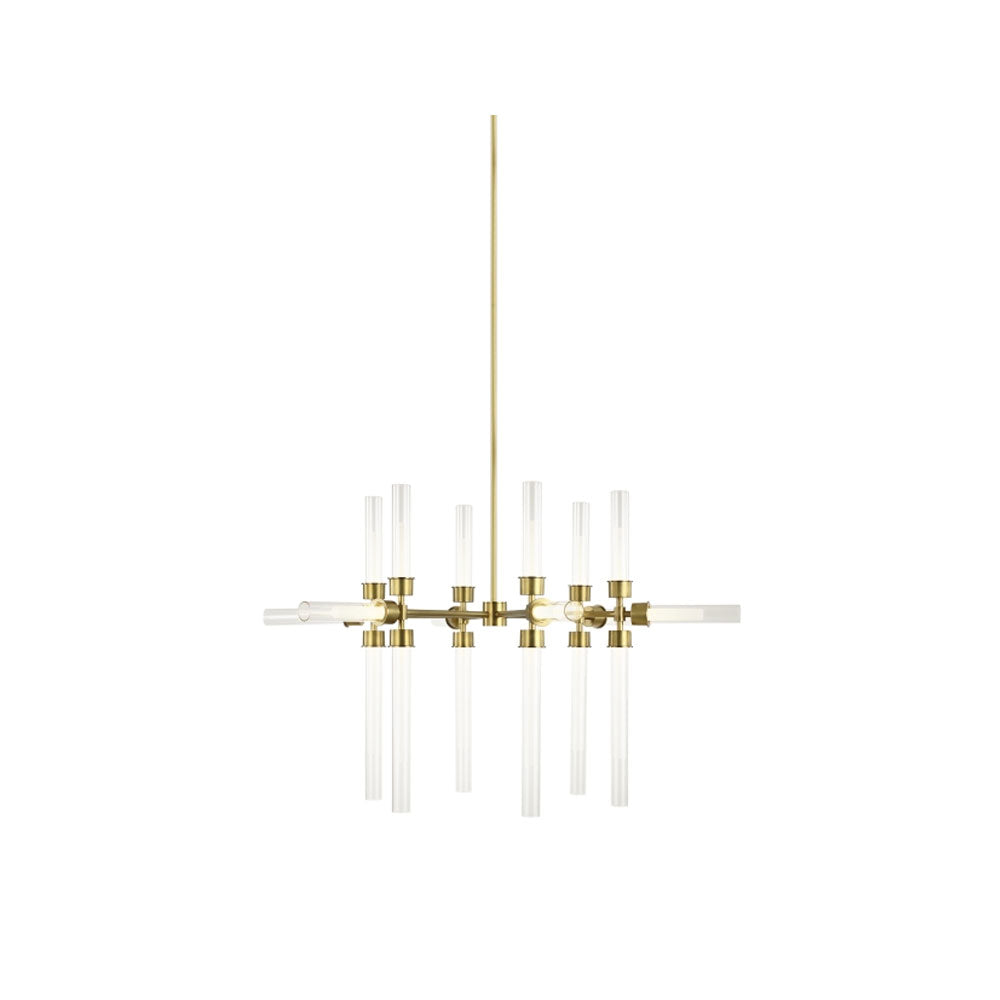 Linger 18-Light Chandelier by Tech Lighting