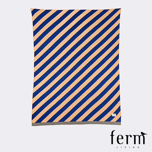 Ferm Living Little Stripe Blanket | Ferm Living | LoftModern