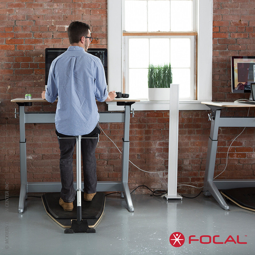 Focal Upright Locus 4 Desk - LoftModern - 4