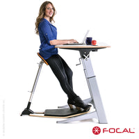 Focal Upright Locus 4 Desk - LoftModern - 6