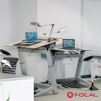 Focal Upright Locus 4 Desk - LoftModern - 7