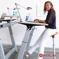 Focal Upright Locus 4 Desk - LoftModern - 1
