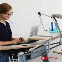 Focal Upright Locus 4 Desk - LoftModern - 5