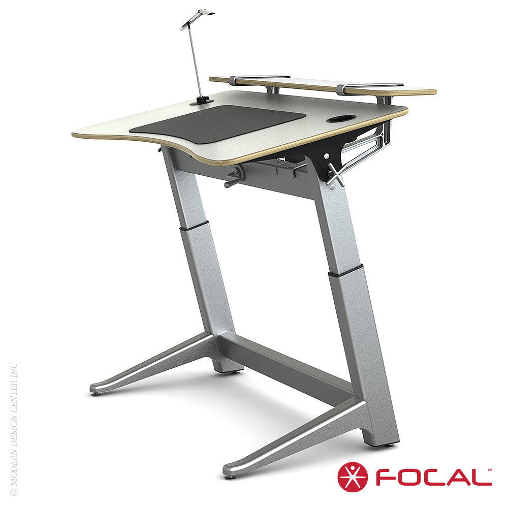 Focal Upright Locus 4 Desk - LoftModern - 8