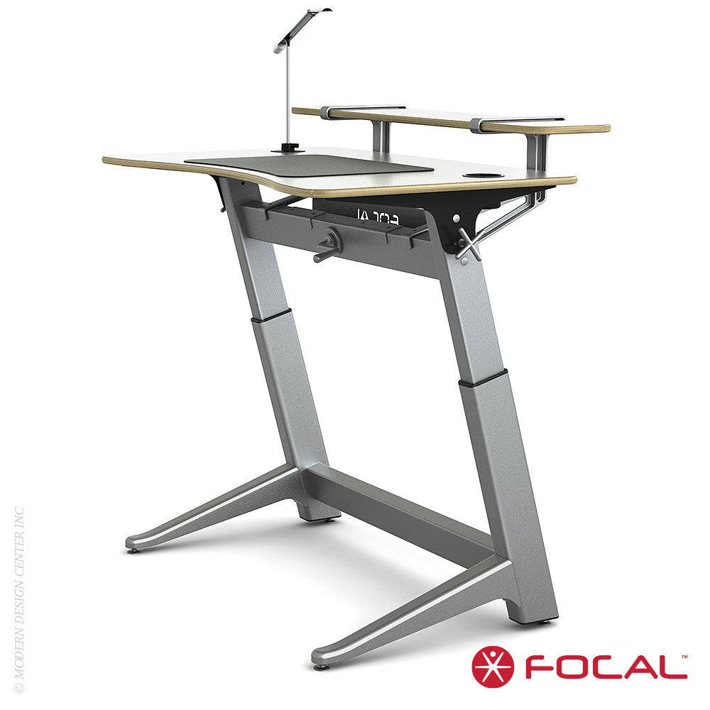 Focal Upright Locus 4 Desk - LoftModern - 9
