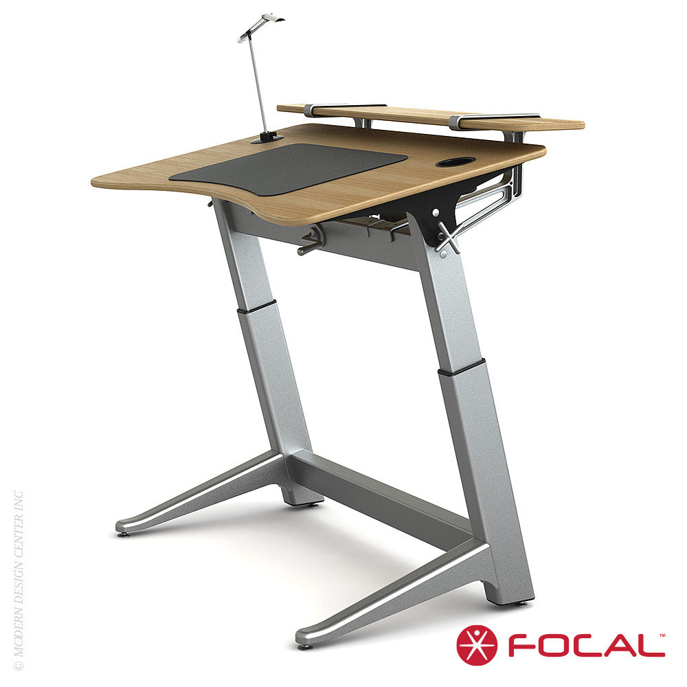 Focal Upright Locus 4 Desk - LoftModern - 11