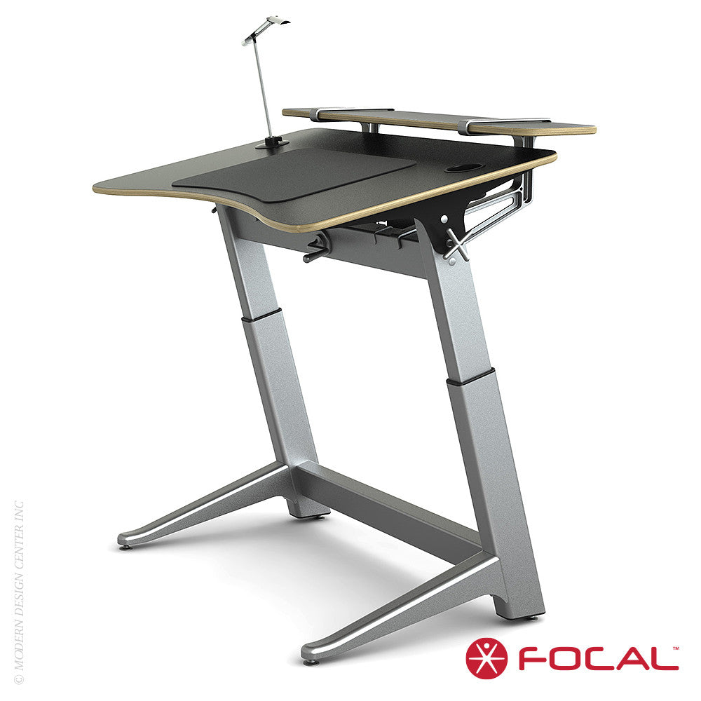 Focal Upright Locus 4 Desk - LoftModern - 12