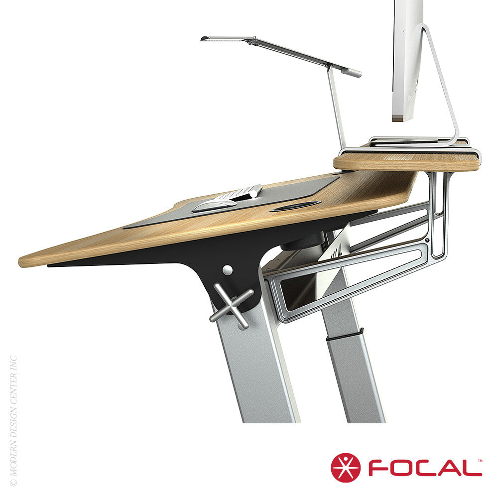 Focal Upright Locus 4 Desk - LoftModern - 14