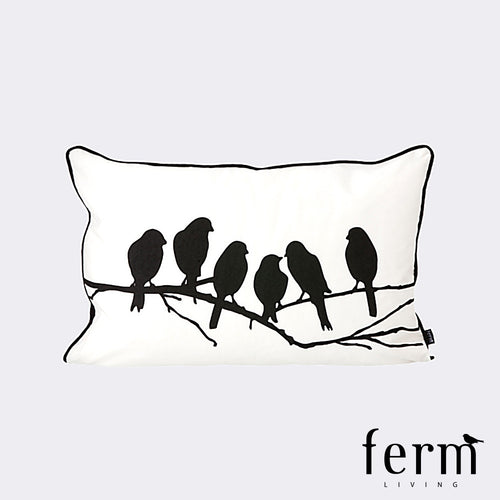 Ferm Living Lovebirds Cushion | Ferm Living | LoftModern