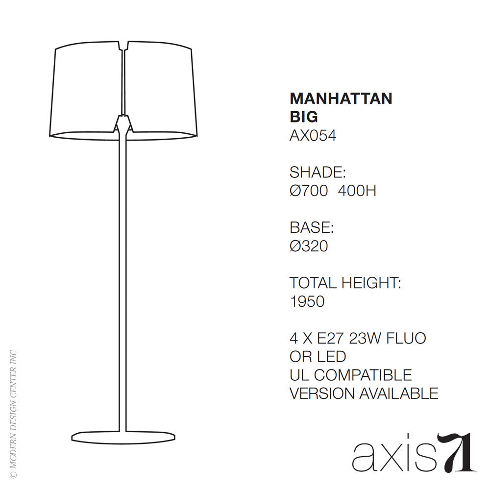 Axis 71 Manhattan Big Floor Lamp | Axis 71 | LoftModern
