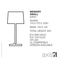 Axis 71 Memory Table Lamp Small - LoftModern - 6