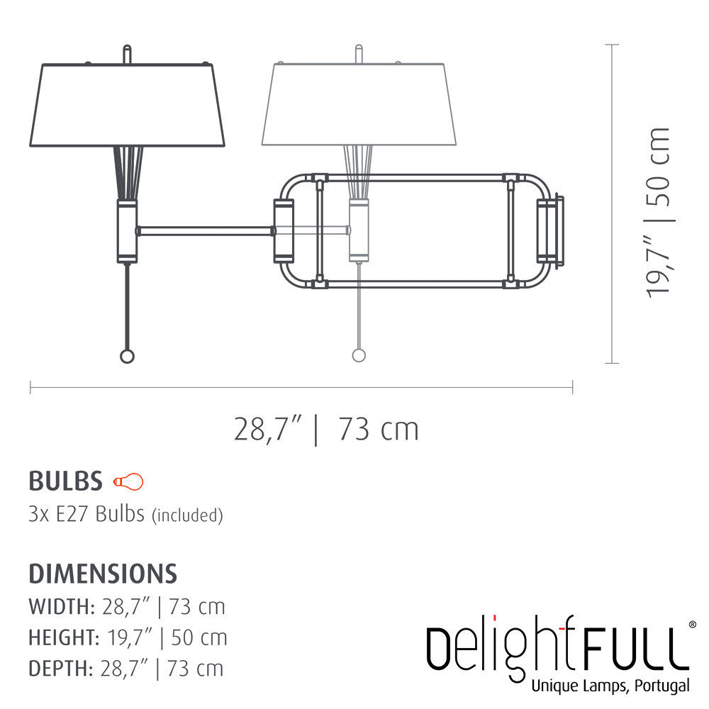 DelightFULL Miles Wall Light | Delightfull | LoftModern