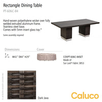 Mirabella Rectangle Dining Table by Caluco | Caluco | LoftModern