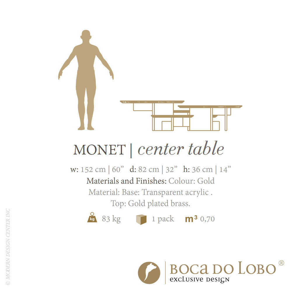Boca do Lobo Caos Monet Center Table Limited Edition | Boca do Lobo | LoftModern
