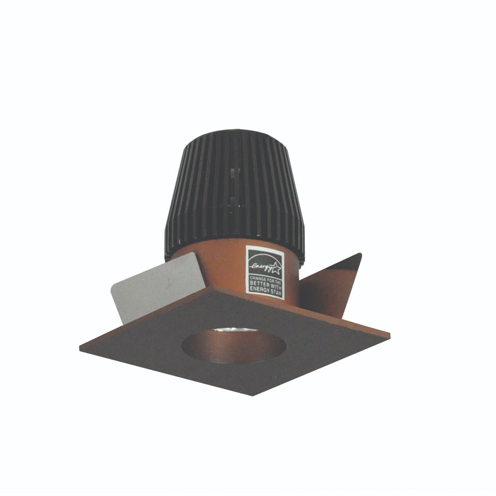 "1"" Iolite, Square BWF Reflector with Round Aperture by Nora Lighting"