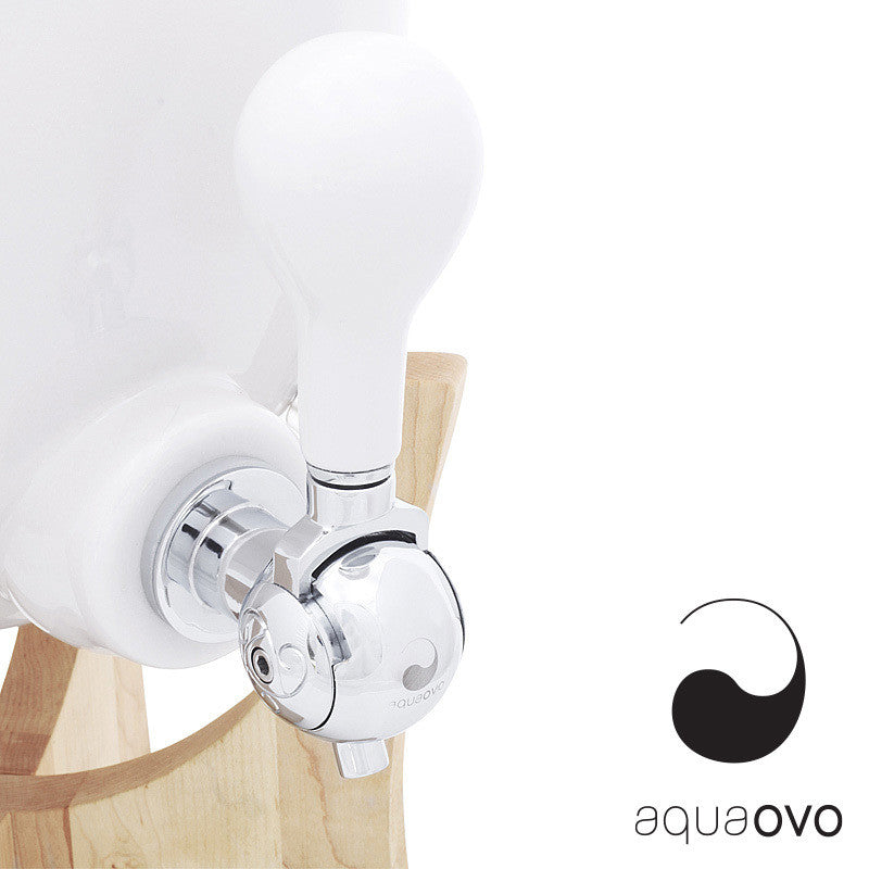 Aquaovo Ovopur Water Filter Maple Base | Aquaovo | LoftModern