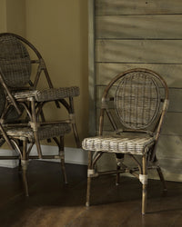 Padmas Plantation Paris Kubu Bistro Chair - Set of 2