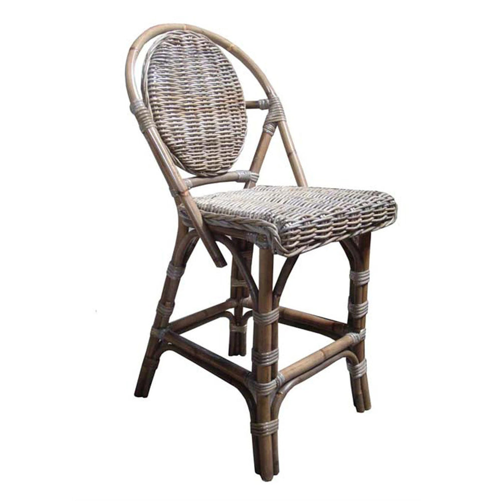 Padmas Plantation Paris Bistro Counter Stool Kubu