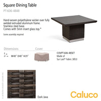 Mirabella Square Dining Table by Caluco - LoftModern - 2