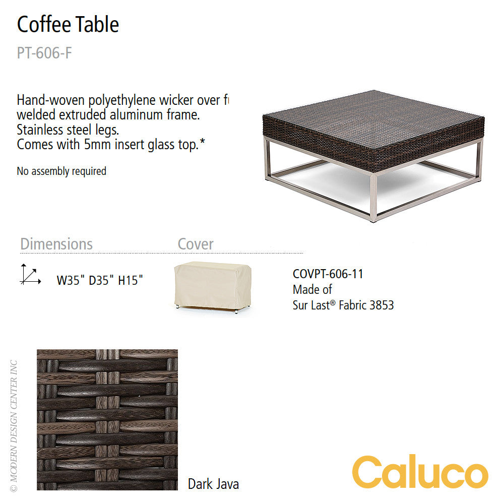 Mirabella Coffee Table by Caluco - LoftModern - 2