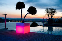 Passo LED Cordless Planter by Smart & Green