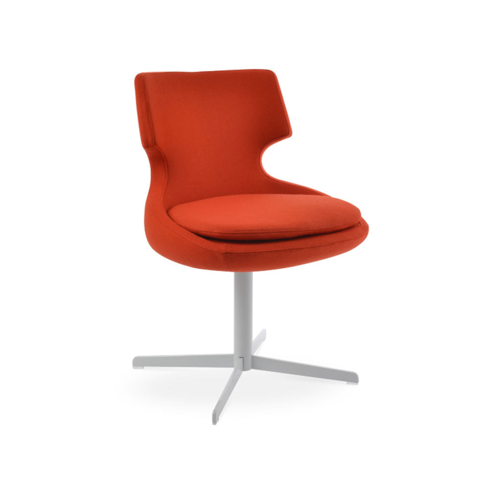 Patara 4 Star Swivel Chair Fabric by SohoConcept