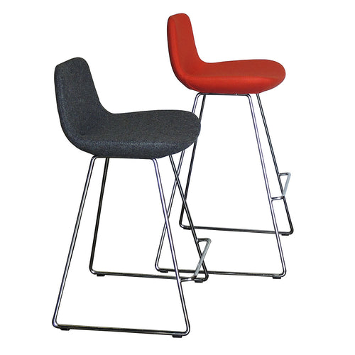 B&T Pera Sled Base Barstool