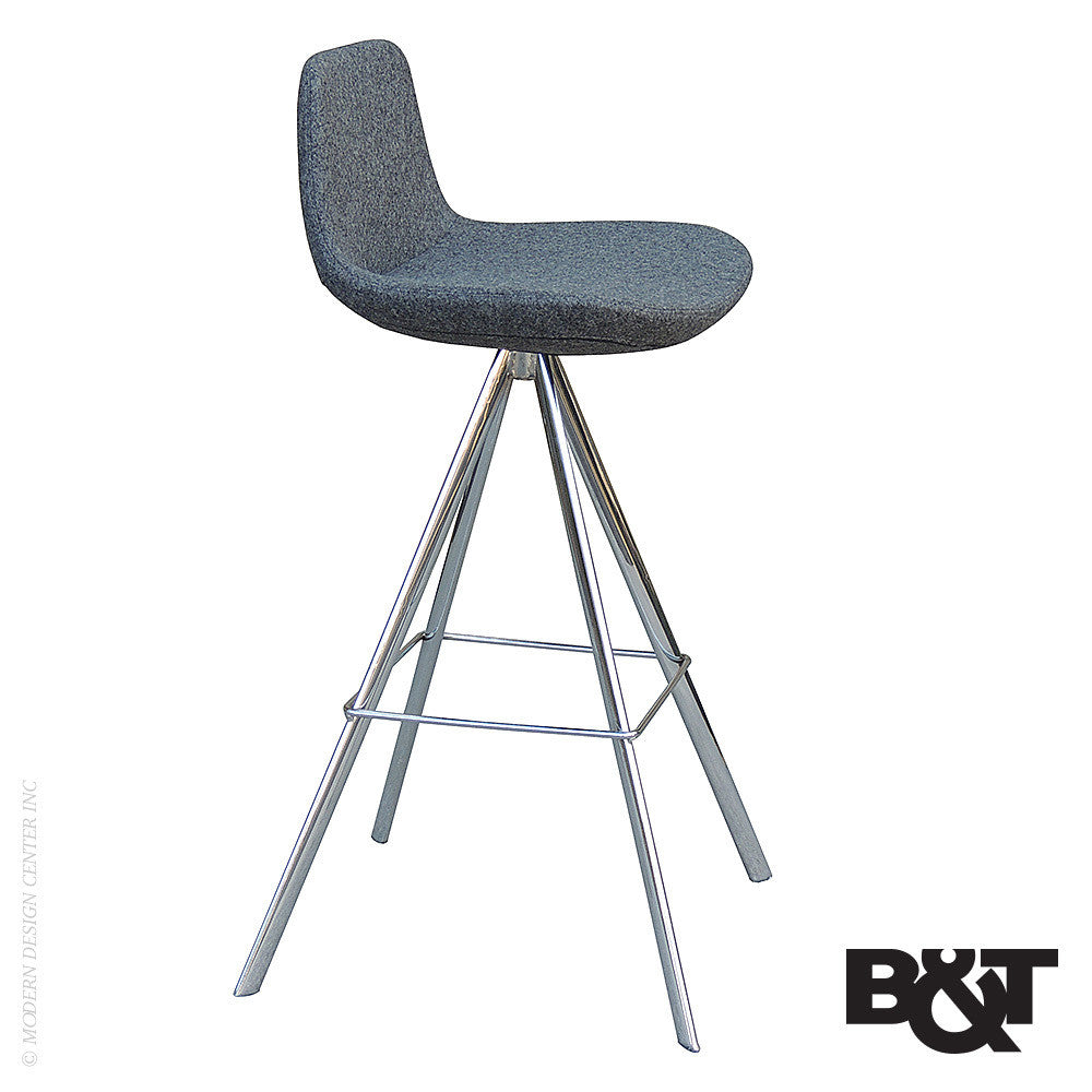 B&T Pera Ellipse Bar Stool - LoftModern - 1