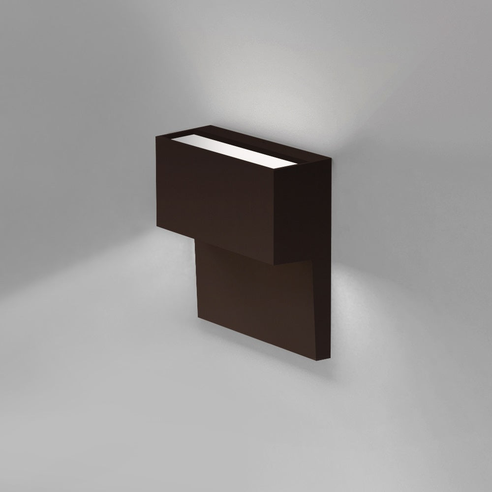 Piano Direct/Indirect LED Bronze Wall Light by Artemide