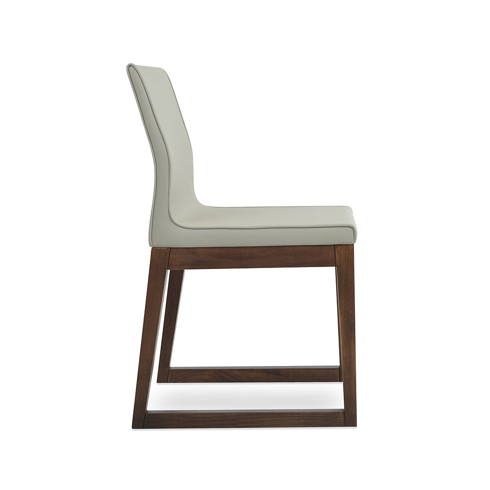 Polo Sled Wood Dining Chair by SohoConcept