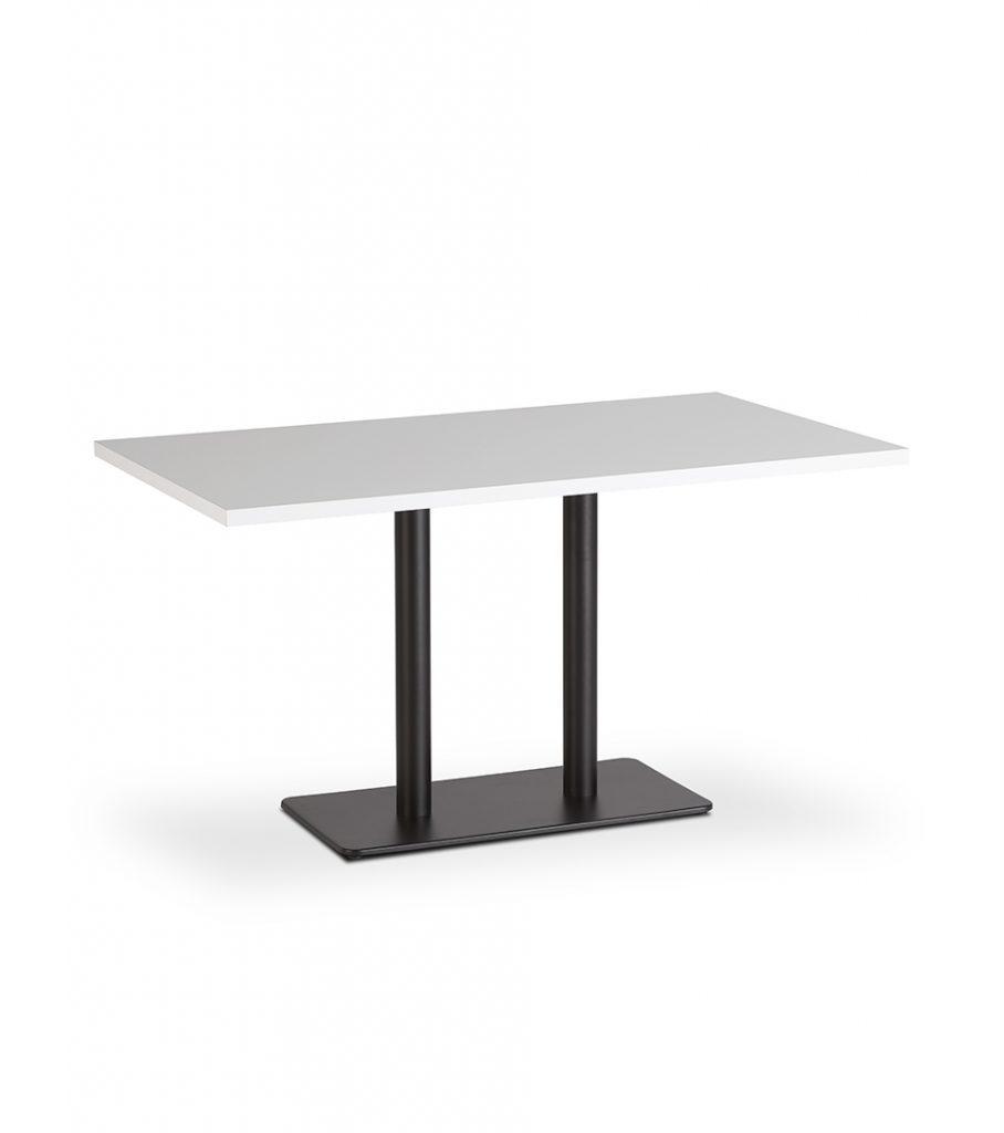 B&T Polo Double Pedestal Table