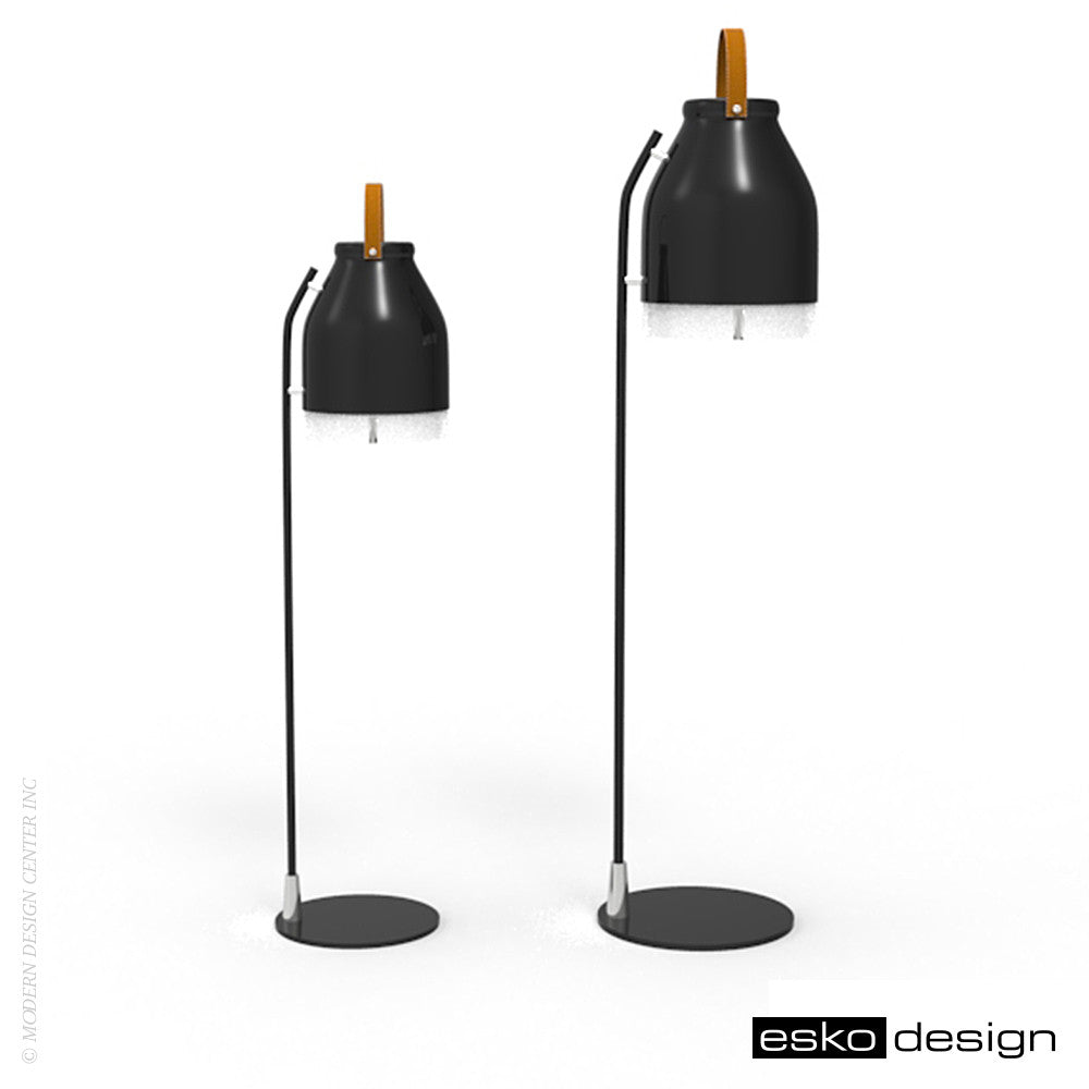 Cowbelle Desk Lamp Jet Black by Esko Design | Esko Design | LoftModern