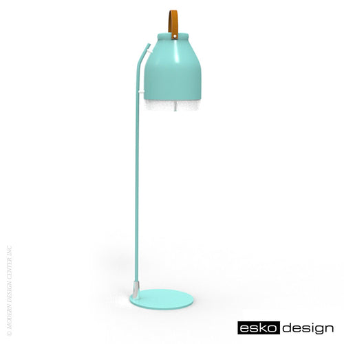 Cowbelle Desk Lamp Light Green by Esko Design | Esko Design | LoftModern