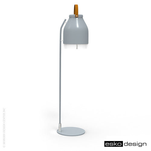 Cowbelle Desk Lamp Signal Gray by Esko Design | Esko Design | LoftModern
