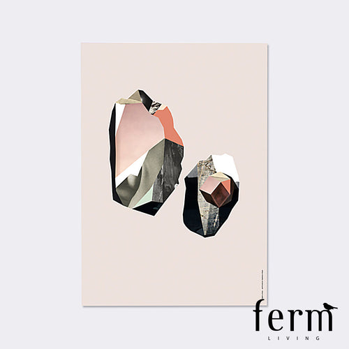 Ferm Living Quartz 2 Wooden Illustration | Ferm Living | LoftModern