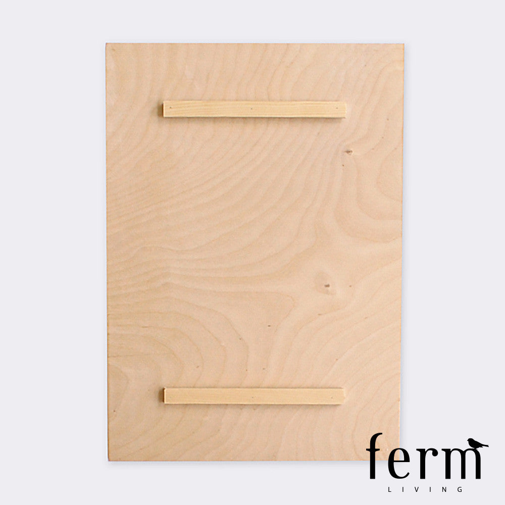 Ferm Living Quartz 3 Wooden Illustration | Ferm Living | LoftModern