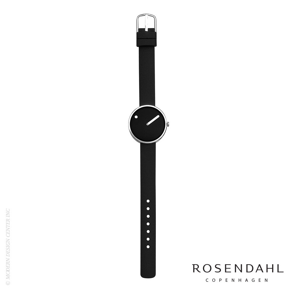 Rosendahl Picto Analog Watch Black/Steel - LoftModern - 2