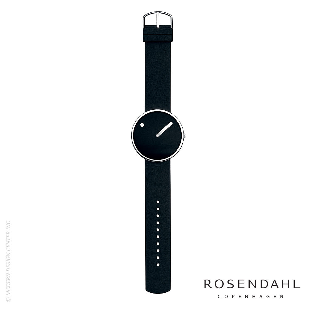 Rosendahl Picto Analog Watch Black/Steel - LoftModern - 3